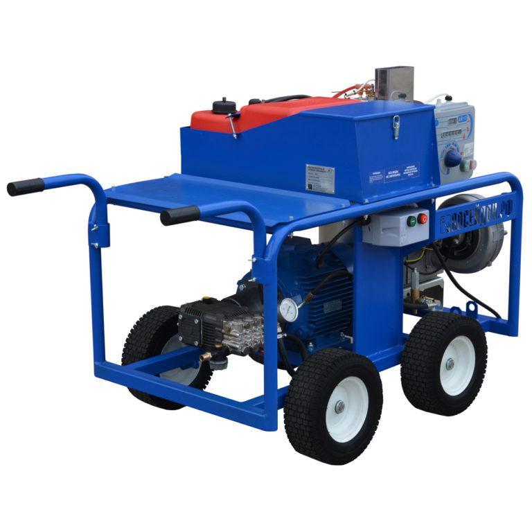 Гидродинамический аппарат с подогревом Посейдон E7-Th (ВНА-ЭГ-200-20), 200 бар, 20 л/мин
