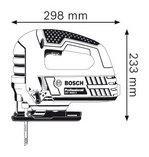 Bosch GST 8000 E Professional Лобзиковая пила - фото 4