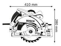 GKS 85 Professional ручная циркулярная пила Bosch - фото 5