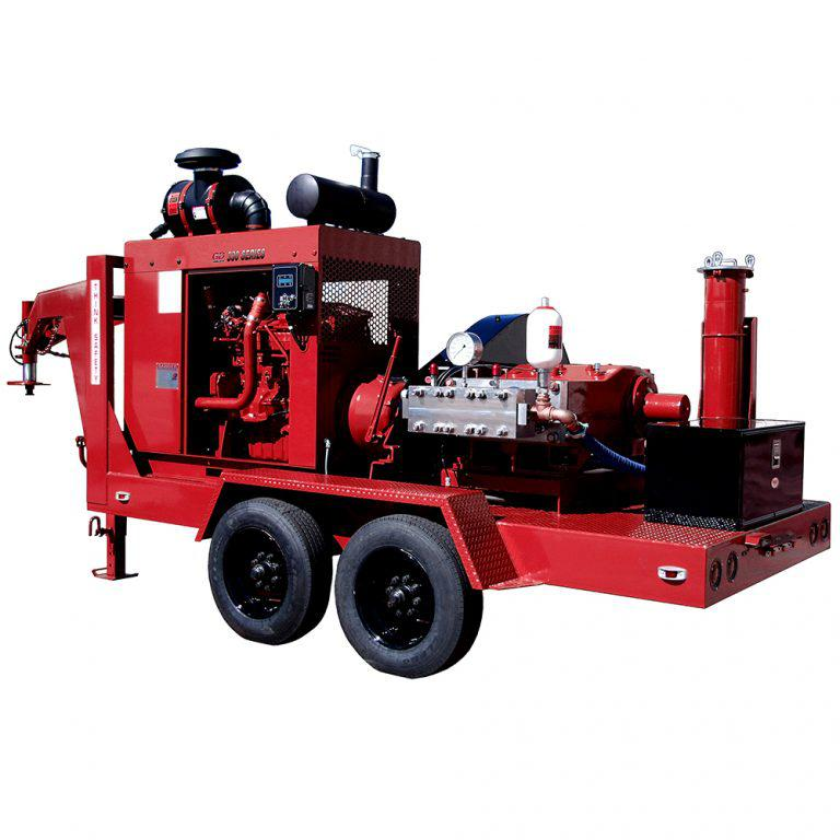 Установки Multi-Blaster серии 330 / Gardner Denver Inc. (США) Высоконапорные гидродинамические машины большой