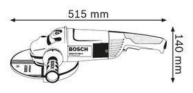 Угловая шлифмашина Bosch GWS 22-180 H Professional - фото 5