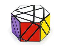Кубик diansheng Hexagonal Prizm черный наклейки, Diansheng, фото 1