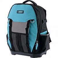 Рюкзак для инструмента 77 карманов, Experte, пластиковое дно, с органайзером, 360*205*470мм, GROSS, 90270