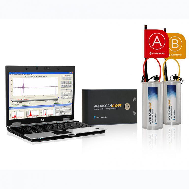 Корреляционный течеискатель Aquascan 610 Laptop