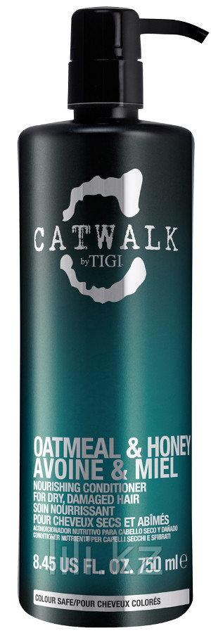 Кондиционер для питания сухих и ломких волос - TIGI Catwalk Oatmeal & Honey Conditioner 750 мл.