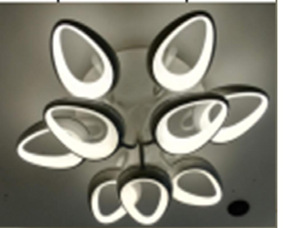 Люстра светодиодная 9 ламповая