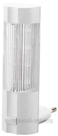 Светильник-ночник СВЕТОЗАР, 4 светодиода (LED), с выключателем, белый свет, 220В                                        , фото 2