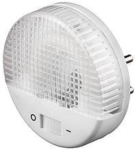 Светильник-ночник СВЕТОЗАР, U-образная люминесцентная лампа, с выключателем, 1W, цветовая температура 2700К