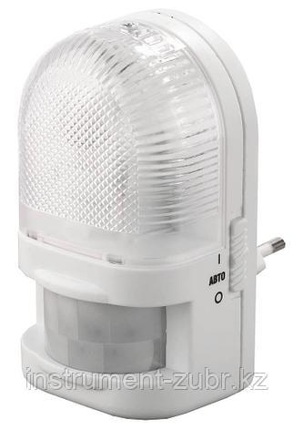 Светильник-ночник СВЕТОЗАР с датчиком движения, ЛОН-лампа, с выключателем, 7W, цветовая температура 2700К               , фото 2