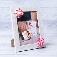 Фоторамка 'Для любимой' 15 x 20 см, с цветочным декором