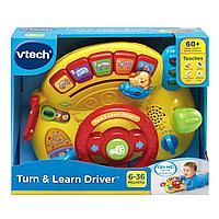 Интерактивная развивающая игрушка «Руль» VTech, фото 1