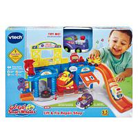 Интерактивная развивающая игрушка «Мастерская для машины» VTech, фото 1