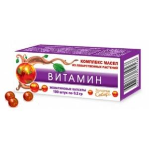ВИТАМИН, 100кап