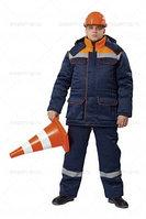 Костюм зимний рабочий Балтимор т.синий/оранжевый