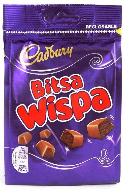 Шоколадные конфеты Wispa Bites
