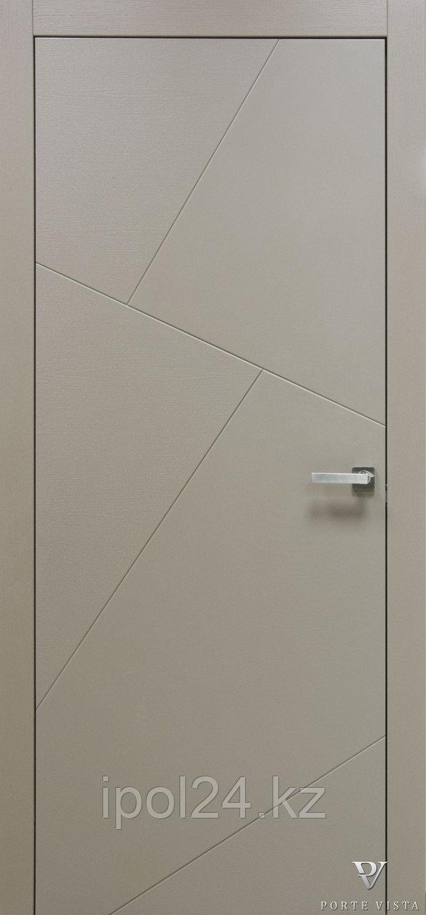 Межкомнатная дверь  Porte Vista Хай-тек (Сканди 5)
