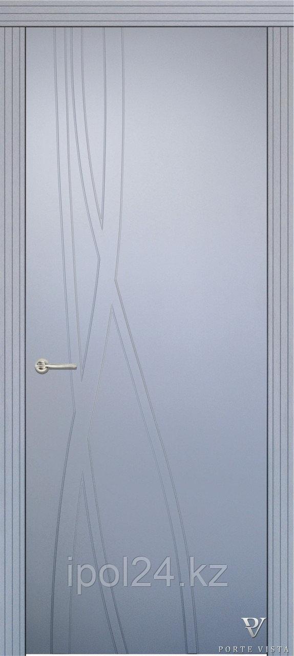 Межкомнатная дверь  Porte Vista Хай-тек КОЛОР
