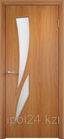 """Межкомнатная дверь Verda  Тип С-2  (глухое и остекленное """"САТИНАТО"""")"""