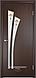 """Межкомнатная дверь Verda Тип С-7  (остекленное """"САТИНАТО"""" Витраж/ Витраж 2), фото 5"""