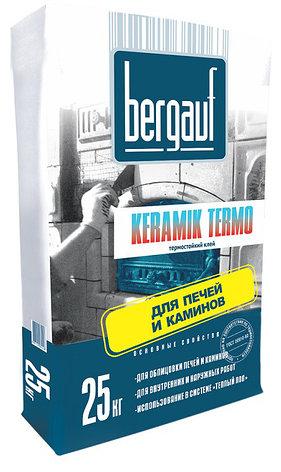 Bergauf клей Keramik Termo 25кг (Печи, камины +180С), фото 2