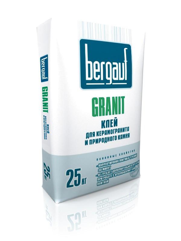 Bergauf клей kGranit (тяжелые плиты) 25кг