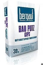 Bergauf штукатурка Bau Putz Gips  30кг (Ротбанд)