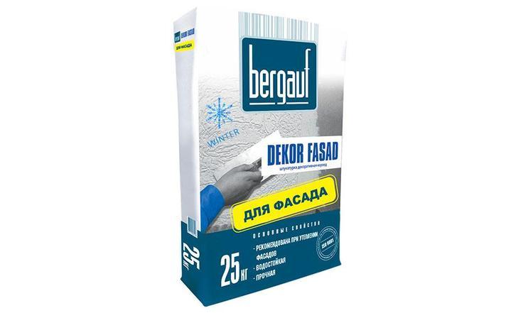 Bergauf штукатурка Dekor Fassad  25кг декор. короед, фото 2