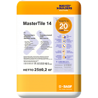 Кафельный клей BASF MasterTile 14 (130) 25кг