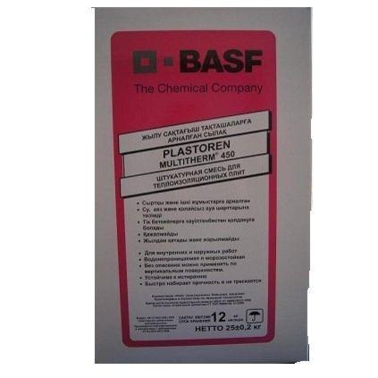 Штукатурка BASF Plastoren (Пласторен)25кг