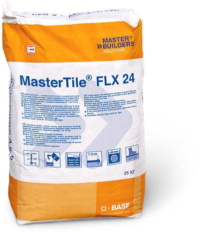 Кафельный клей BASF MasterTile FLX24 (Флексмортель) белый 25кг, фото 2