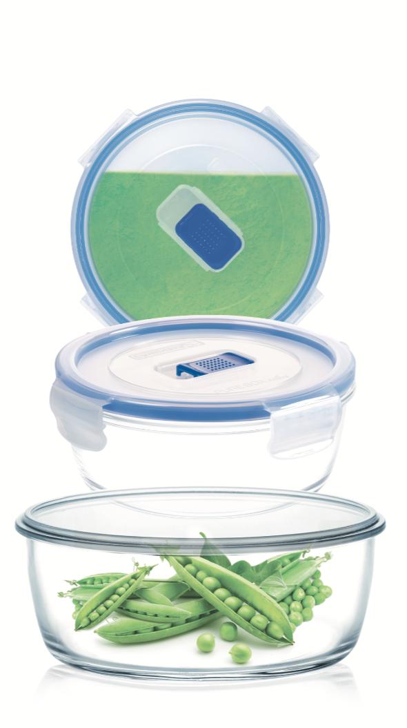 Набор круглых контейнеров Luminarc Pure Box Active 3 шт.