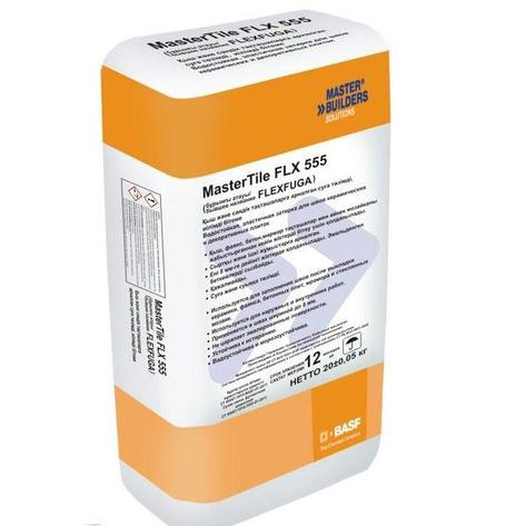 Затирка для швов  BASF MasterTile FLX 555 (Флексфуга) белая 5кг, фото 2