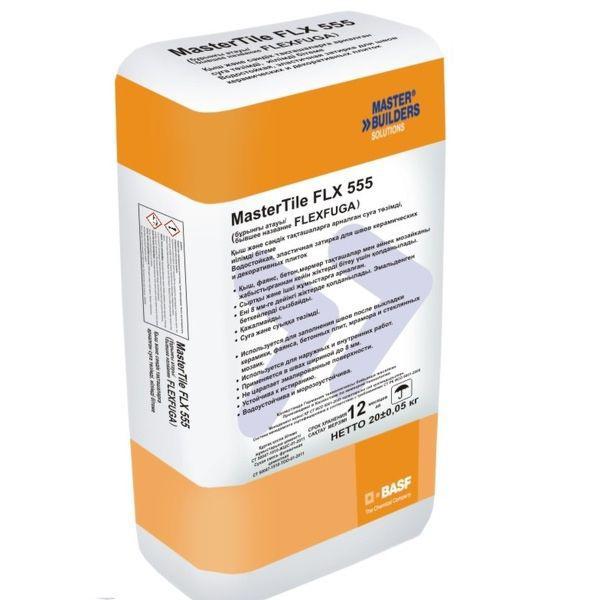 Затирка для швов  BASF MasterTile FLX 555 (Флексфуга) белая 5кг