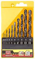 "Набор STAYER ""MASTER"" Свёрла по металлу, быстрорежущая сталь, на карточке, 5, 6, 8мм, 3шт"