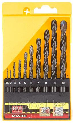 """Набор STAYER """"MASTER"""" Свёрла по металлу, быстрорежущая сталь, на карточке, 5, 6, 8мм, 3шт, фото 2"""