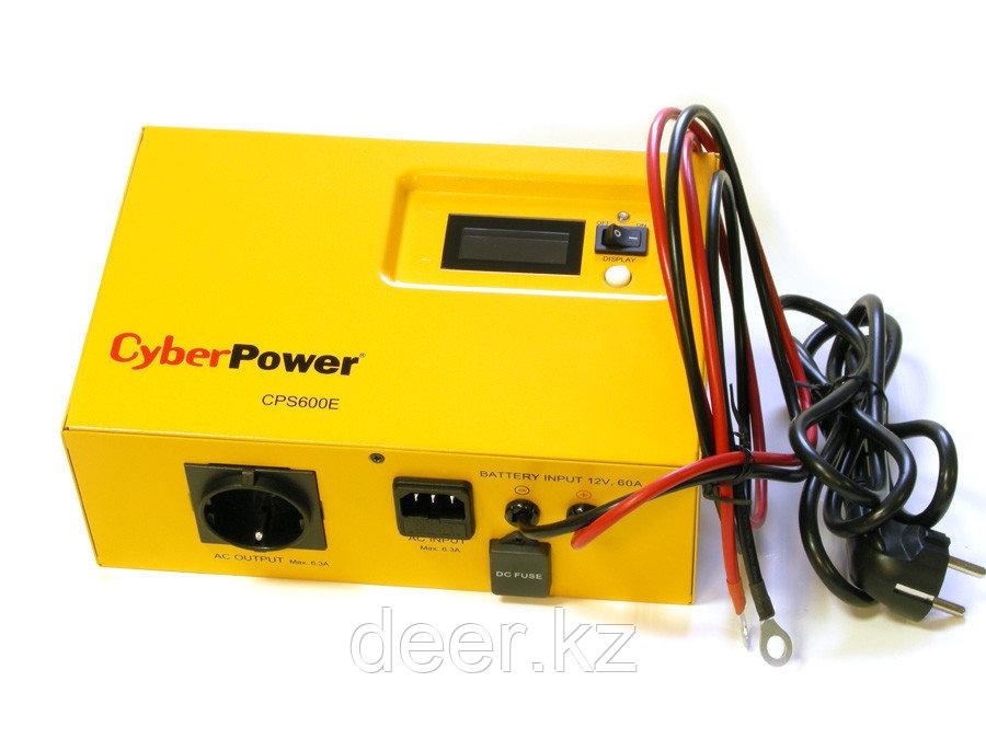 Автоматический инвертор CyberPower CPS 600E (600VA/420W) 12В
