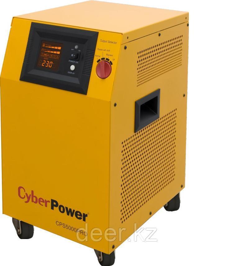 Автоматический инвертор CyberPower CPS 3500 PRO (3500VA/2450W) 24В
