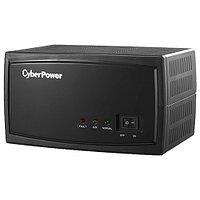 Стабилизатор напряжения CyberPower AVR1500E, релейный, LED, мощность 1500VA/1500W