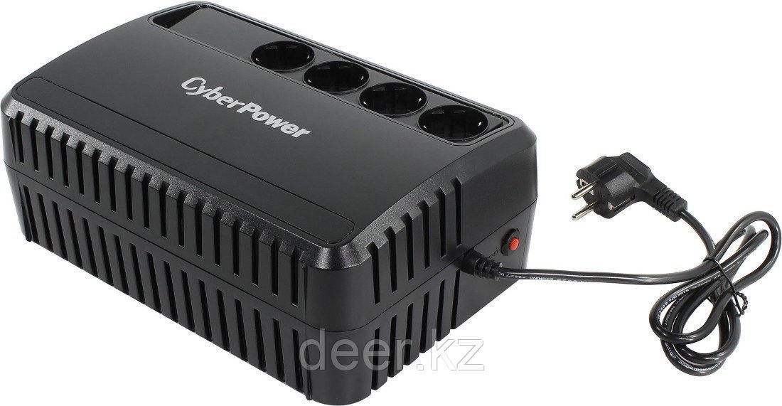 Line-Interactive ИБП, CyberPower BU850E, выходная мощность 850VA/425W