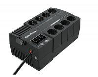 Резервный ИБП, CyberPower BS650E, выходная мощность 850VA/490W