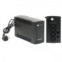 Интерактивный ИБП, CyberPower UTС650EI, выходная мощность 650VA/360W