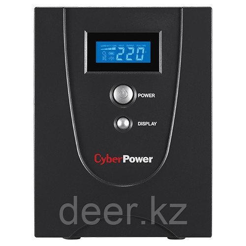 Интерактивный ИБП, CyberPower VALUE1500EILCD, выходная мощность 1500VA/900W