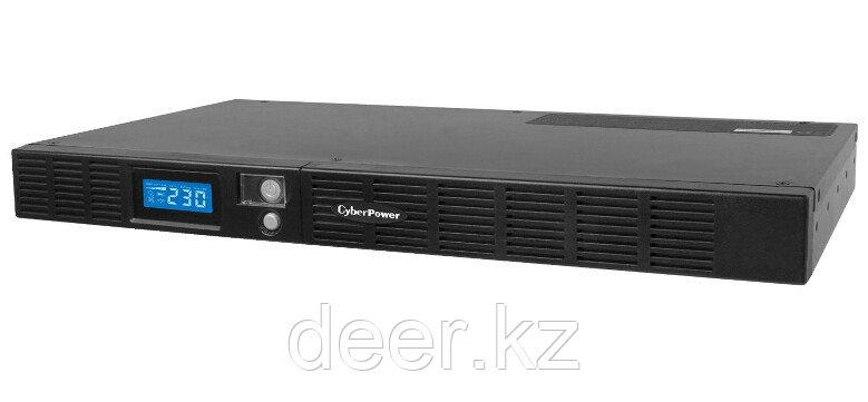 Интерактивный ИБП, CyberPower OR600ELCDRM1U, выходная мощность 600VA/360W