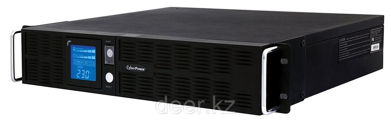 Интерактивный ИБП, CyberPower PR1500ELCDRT2U, выходная мощность 1500VA/1350W