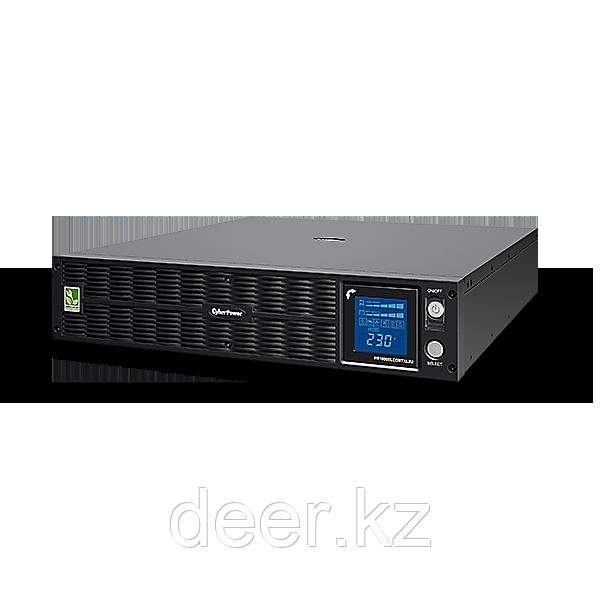 Интерактивный ИБП, CyberPower PR1000ELCDRTXL2U, выходная мощность 1000VA/750W