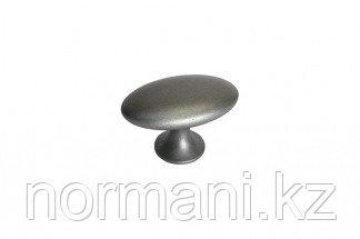 Ручка-кнопка, отделка железо античное