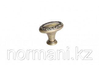 Мебельная ручка для кухни 32х20 бронза английская