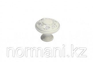 Мебельная ручка для кухни серебро винтаж