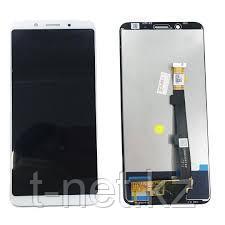 Дисплей Oppo F5/CPH1723, с сенсором, цвет белый