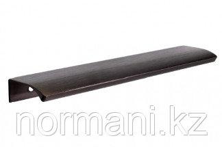 Ручка-скоба L.200мм, отделка бронза темная